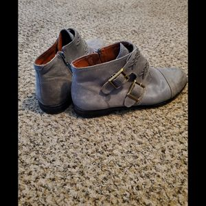 Lucky Brand Grey Booties